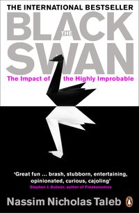 The Black Swan by Nassim Nicholas Taleb which he examines the influence of highly improbable and unpredictable events that have massive impact. Engaging and enlightening, The Black Swan is a book that may change the way you think about the world...